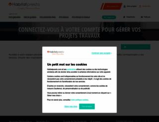demandeur.devispresto.com screenshot