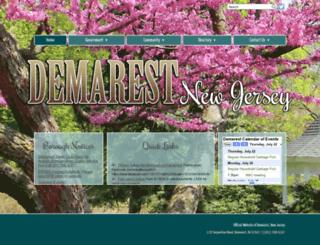 demarestnj.net screenshot