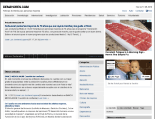 demayores.com screenshot