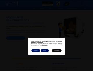 demenagement-kangourou.com screenshot