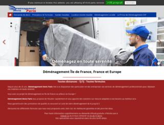demenagement-paris-devis.fr screenshot