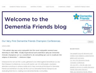 dementiafriendsblog.org.uk screenshot
