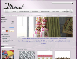 demet.co screenshot