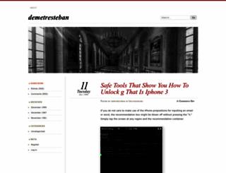 demetresteban.wordpress.com screenshot
