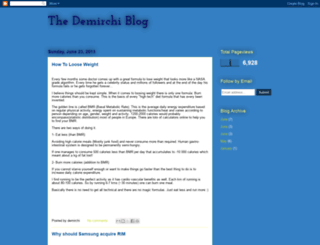 demirchiblog.blogspot.com screenshot