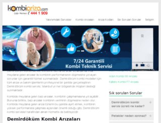 demirdokum.kombiariza.com screenshot