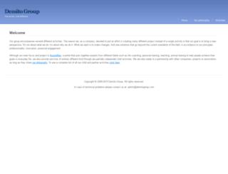 demitogroup.com screenshot
