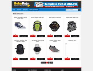 demo-bukabaju.blogspot.co.id screenshot