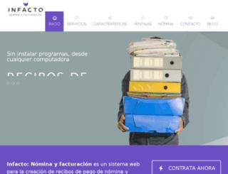demo-infacto.com screenshot