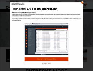 demo.4sellers.de screenshot