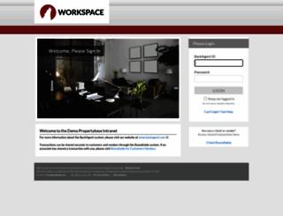 demo.backagent.net screenshot