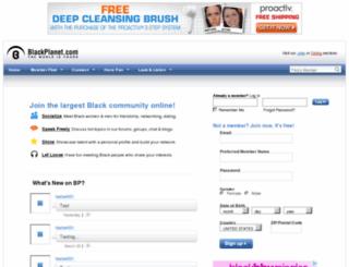 demo.blackplanet.com screenshot