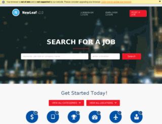 demo.careerleaf.com screenshot