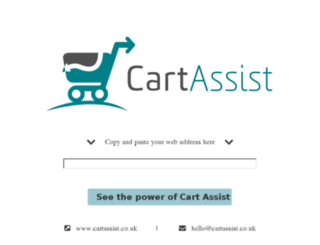 demo.cartassist.co.uk screenshot