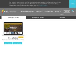 demo.ciaothemes.com screenshot