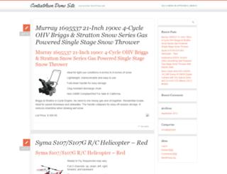 demo.contextazon.com screenshot
