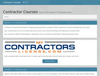 demo.contractors-license.com screenshot