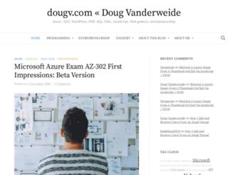 demo.dougv.com screenshot