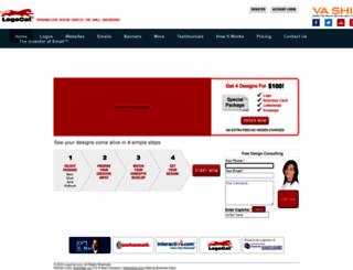 demo.echomail.com screenshot
