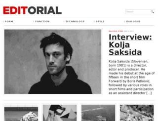 demo.editorialtemplate.com screenshot