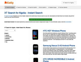 demo.extly.com screenshot