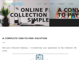 demo.feecounter.com screenshot