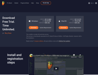 demo.flstudio.com screenshot