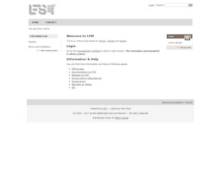 demo.getlfs.com screenshot