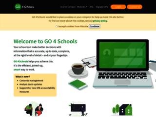 demo.go4schools.com screenshot