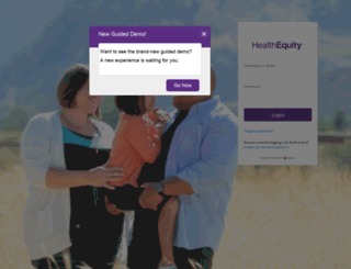 demo.healthequity.com screenshot
