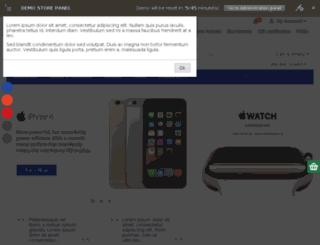 demo.hungryweb.net screenshot