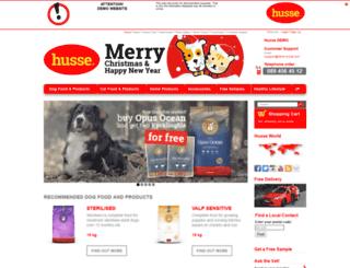 demo.husse.com screenshot