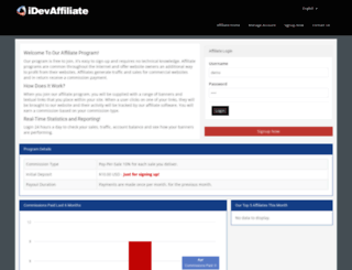 demo.idevdirect.com screenshot