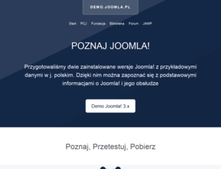 demo.joomla.pl screenshot