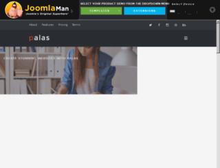 demo.joomlaman.com screenshot