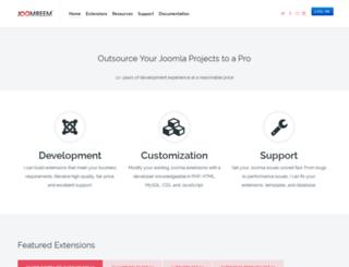 demo.joomreem.com screenshot