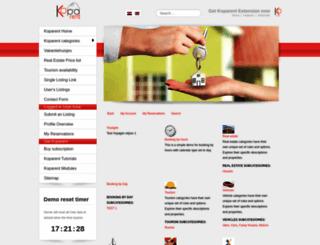 demo.koparent.com screenshot