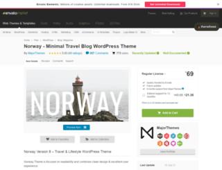 demo.major-themes.com screenshot