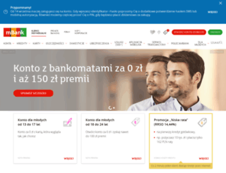 demo.mbank.pl screenshot