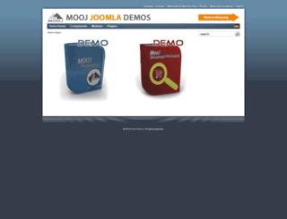 demo.mooj.eu screenshot