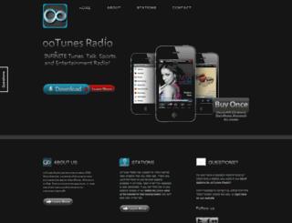 demo.ootunes.com screenshot