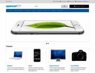 demo.opencart.com screenshot