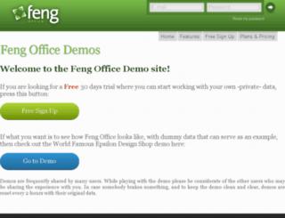 demo.opengoo.org screenshot