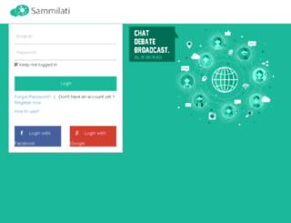 demo.sammilati.com screenshot