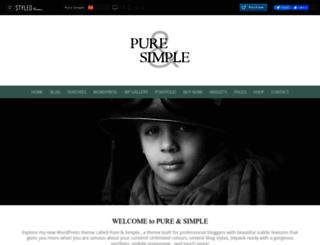 demo.styledthemes.com screenshot