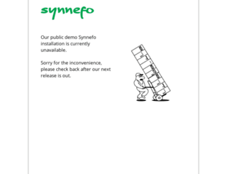 demo.synnefo.org screenshot