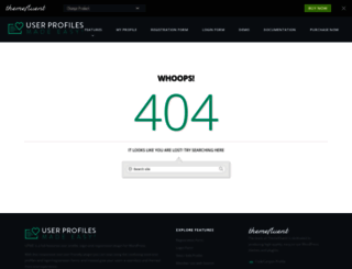 demo.themefluent.com screenshot