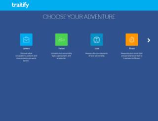 demo.traitify.com screenshot