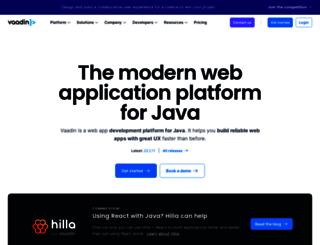 demo.vaadin.com screenshot