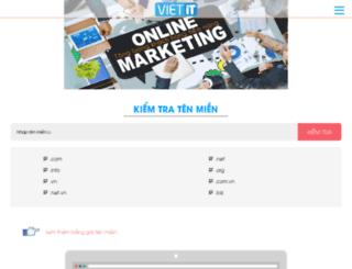 demo.vietit.vn screenshot